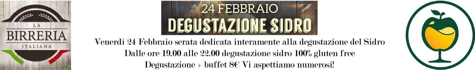 SERATA DEGUSTAZIONE SIDRI DALLA BIRRERIA ITALIANA
